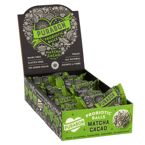 Better For You - Matcha Cacao Probiotic Ball 12-pack