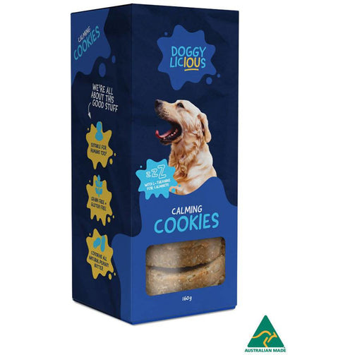 Doggylicious Calming Cookies X 8