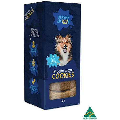 Doggylicious Hip, Joint And Coat Cookies X 8