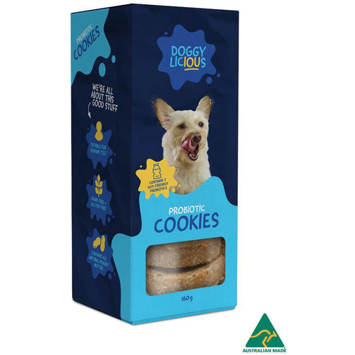 Doggylicious Probiotic Cookies X 8