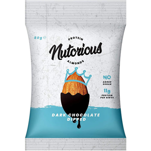 Nuts - Dark Chocolate Nutorious 80g X 16