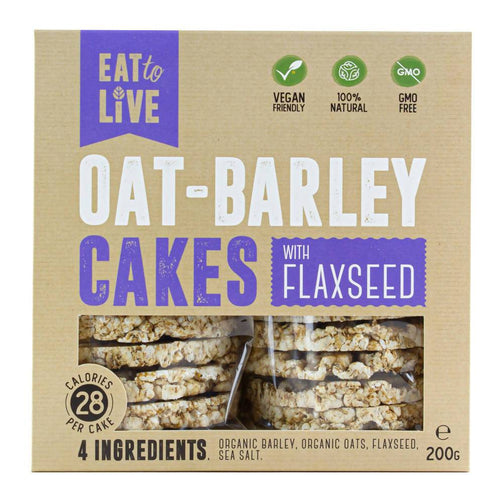 Oat - Barley Cakes With FALXSEED X 12