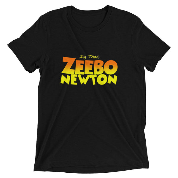 Short sleeve 'Dig That, Zeebo Newton' t-shirt