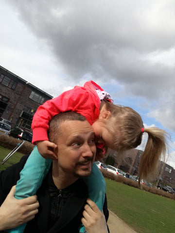 Thijs and his daughter