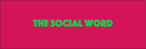 the social word logo