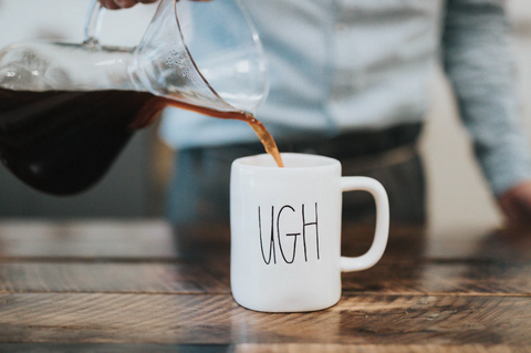 cup that says ugh