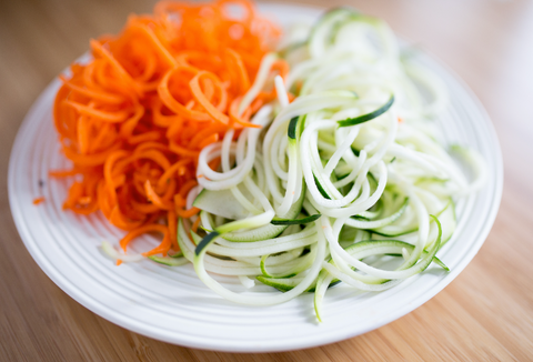 zoodles zucchini carrot noodles