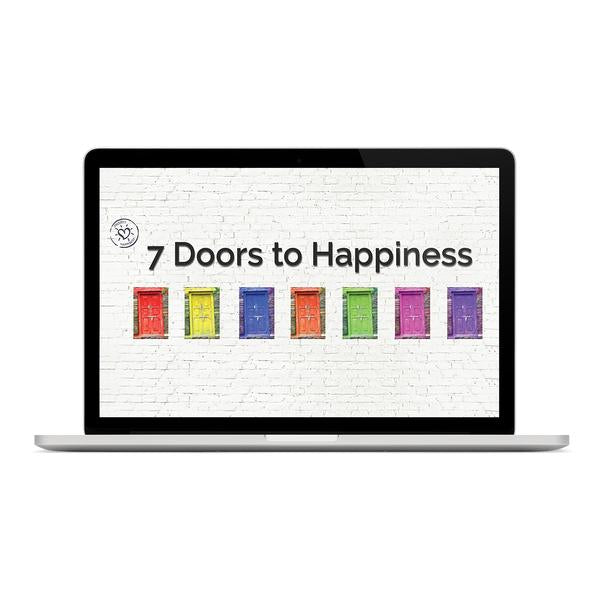SPECIAL⭐ 7 Doors to Happiness Online Course + Companion Project Happiness Kindle