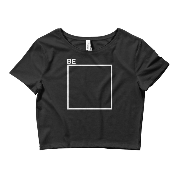 Be Outside The Box - Women's Crop Tee