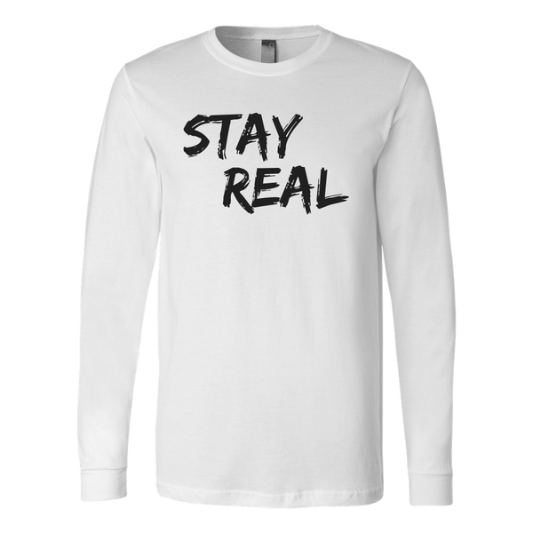 Stay Real Lon Tee - The Zero To Hero Club