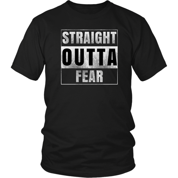 Straight Outta Fear Tee - The Zero To Hero Club