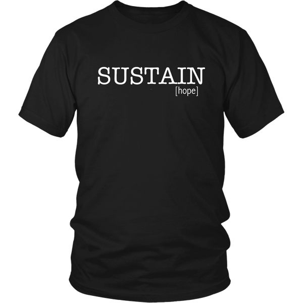 Sustain Hope Tee - The Zero To Hero Club