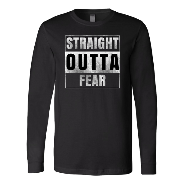 Straight Outta Fear Long Tee - The Zero To Hero Club