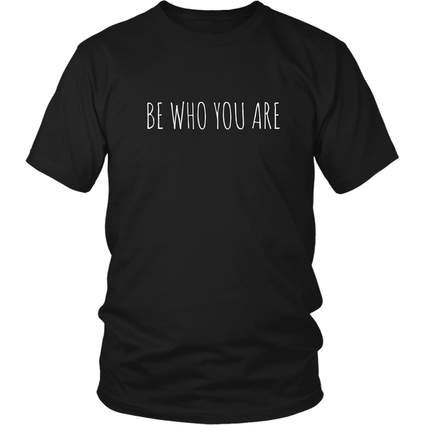 Be Who You Are Tee - The Zero To Hero Club