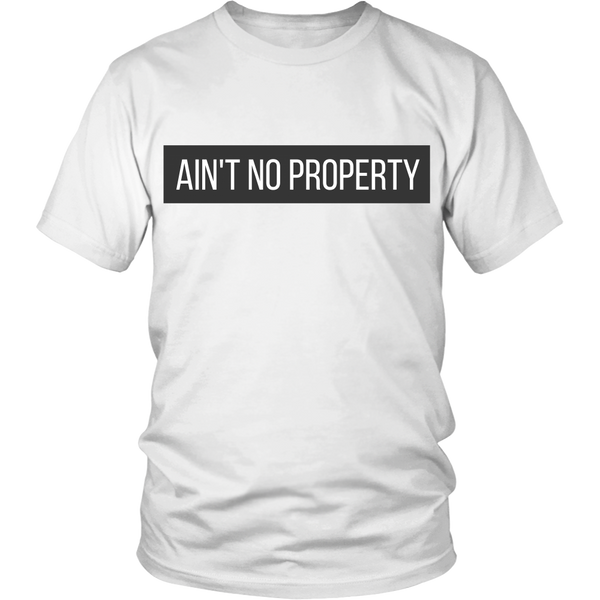 Ain't No Property Tee - The Zero To Hero Club