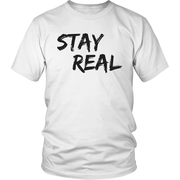 Stay Real Tee - The Zero To Hero Club