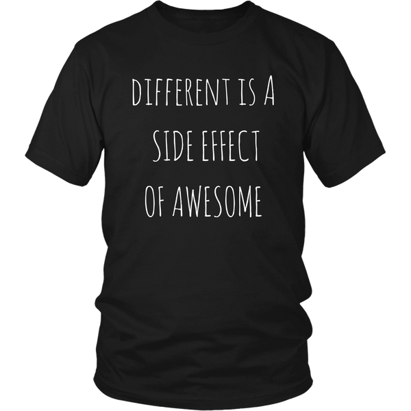Different Is a Side Effect of Awesome Tee - The Zero To Hero Club