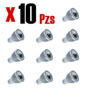 MR16 Fit 5W Dimmeable Calido 5w 10 Piezas - Interled Mexico