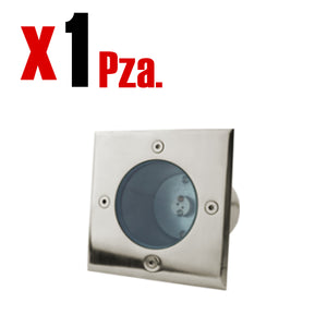 Traffic Light Tapa Empotrable para Mr16 Cuadrada IP65 1 Pieza