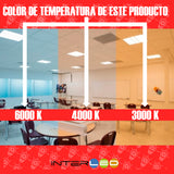 COB 3 Temperatura de color 12W 10 Piezas - Interled Mexico