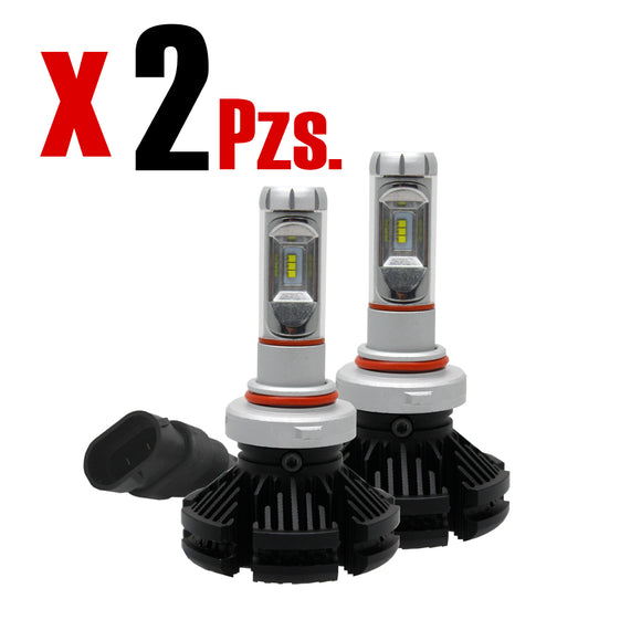 Kit Focos Luces Led X3 9006