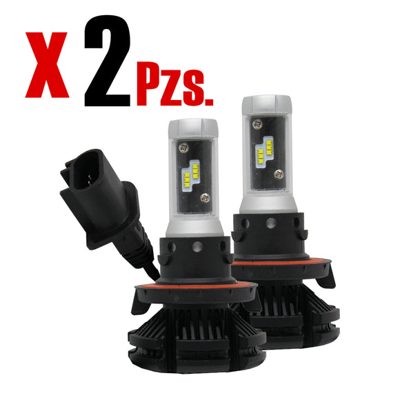 Kit Focos Luces Led X3 H13