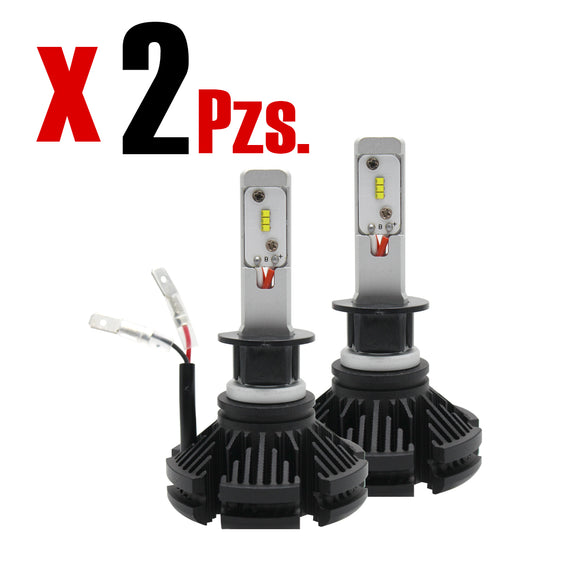 Kit Focos Luces Led X3 H1