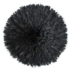 Bamileke Feather Headdress (black)