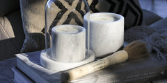 COCOLUX PALM LEAF & BAMBOO - LUNA SMOKED ONYX CANDLE