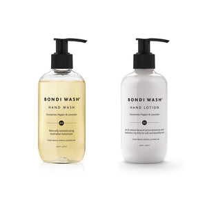Petite Hand Pamper Duo: Hand Wash and Hand Lotion Tasmanian Pepper & Lavender 250ml