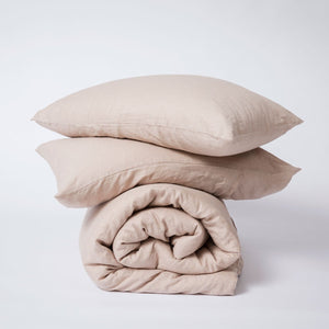 DUVET SET | nude linen by cultiver - king