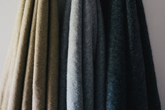Alpaca Throw Charcoal