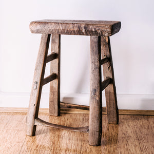Vintage Chinese Worker Stools