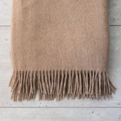 Alpaca Throw Coffee