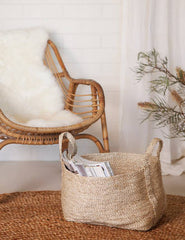 Small Jute Basket - Natural