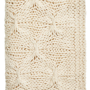 Alka Knitted Throw Natural