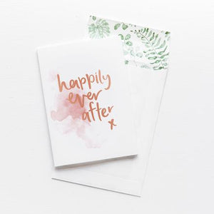 HAPPILY EVER AFTER // GREETING CARD