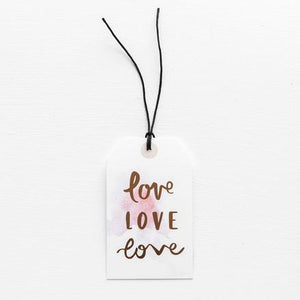 LOVE LOVE LOVE // GIFT TAG
