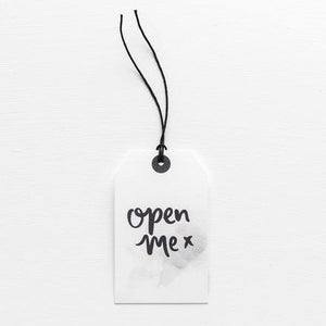 OPEN ME // GIFT TAG