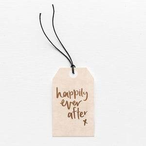 HAPPILY EVER AFTER // GIFT TAG
