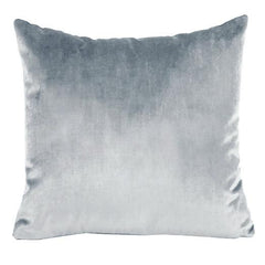 Iosis  VELVET CUSHION ARGENT