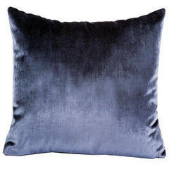 Iosis Velvet Cushion Midnight Blue