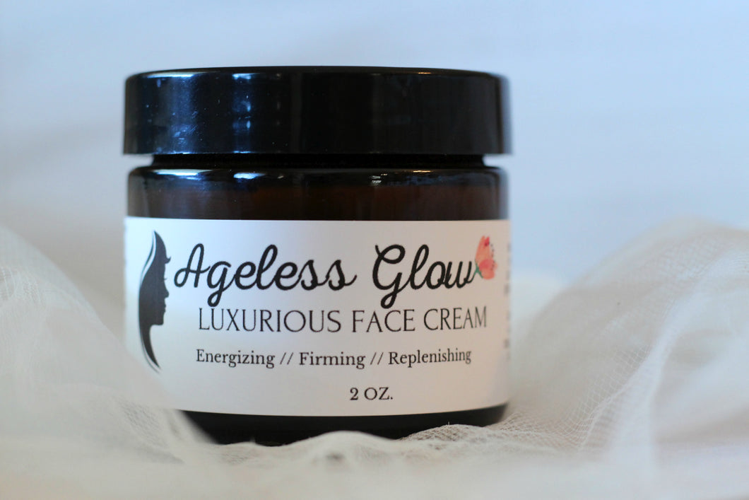 Ageless Glow Face Cream - The Healthy Farm Girl