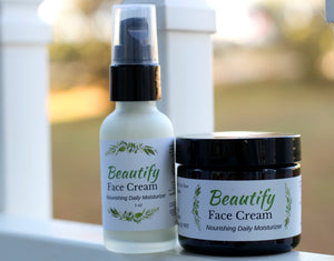 Beautify Face Cream - The Healthy Farm Girl
