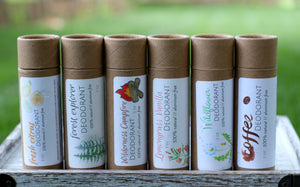 Natural Deodorant (Plastic or Paperboard) - The Healthy Farm Girl
