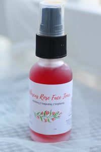 Hibiscus Rose Toner - The Healthy Farm Girl