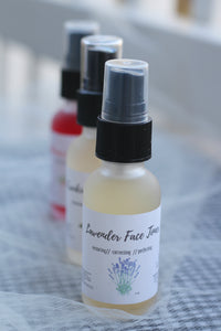 Lavender Face Toner - The Healthy Farm Girl