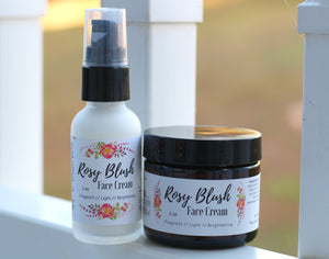 Rosy Blush Face Cream - The Healthy Farm Girl