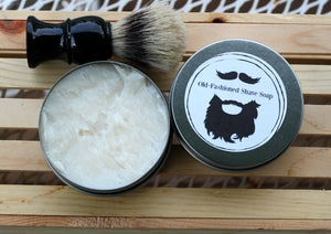 Old Fashioned Shaving Soap - The Healthy Farm Girl