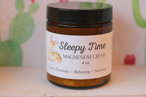 Sleepy Time Magnesium Cream - The Healthy Farm Girl